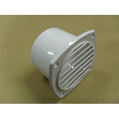 Vent white ABS 102mm with 76mm spigot