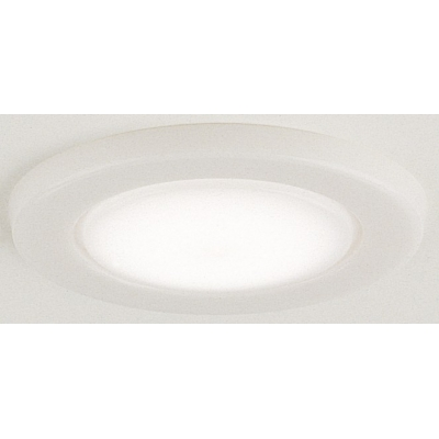 Recessed deck light opaque white DISContinued