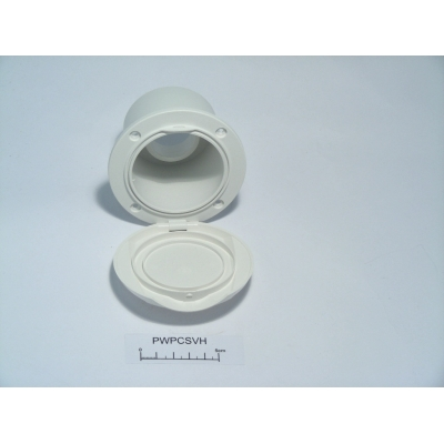 Shower mixer valve white housing Plastimo 62035
