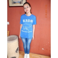 T-Shirt RSDR - Unisex poly-cotton short sleeve t-shirt