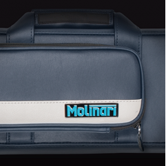 Molinari Flat Bag 2+4 Navy White