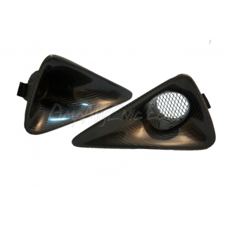 FN2 Fog Lamp Scoops - Carbon Fibre