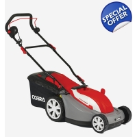 Cobra GTRM34 13' Electric Lawnmower with Rear Ro..