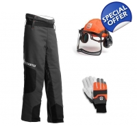 Husqvarna Chainsaw PPE Protective Kit, Helmet, T..