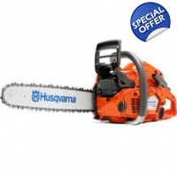 Husqvarna 545 Petrol Chainsaw with 15' Bar