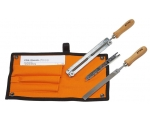 Stihl Filing Kit Files for saw chain maintenance
