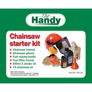 The Handy Chainsaw Starter Kit