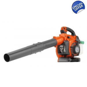Husqvarna 125BVX Petrol Blower with Vacuum Kit