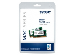 Patriot 16GB 2x8GB DDR3 1333MHz SODIMM Memory Kit  For Apple Mac