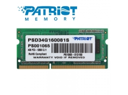 Patriot 4GB DDR3L 1600 ..