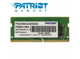 Patriot 16GB DDR4 2400MHz SODIMM for Notebook