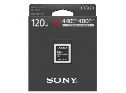 Sony 120GB XQD G-Series R-440MB/s W-400MB/s