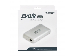 Patriot 512GB EVLVR Thunderbolt 3 External SSD