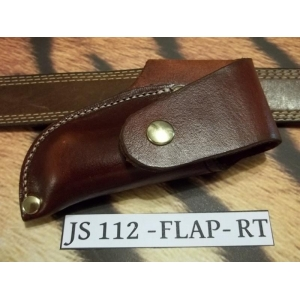 JS112-FLAP03-RT Custom Knife Sheath for Buck 112