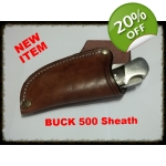 JS500-001 Custom Knife Sheath for Buck 500
