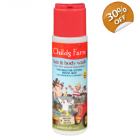 Childs Farm Hair and body wash for dirty rascals