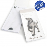 'Walkies' Wrendale Magnetic shopping list