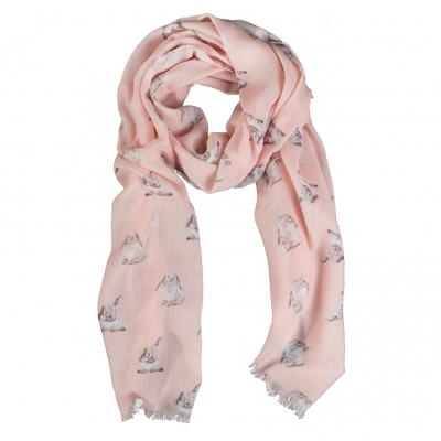 Wrendale Bunny Scarf