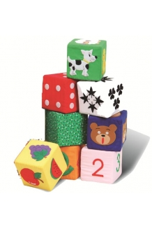 Activity cubes - set of 8