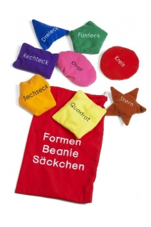 Shapes Bean Bags - German