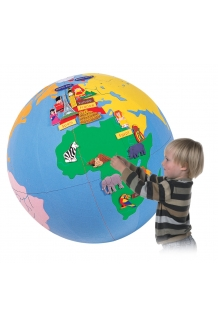 Fabric World Globe - large