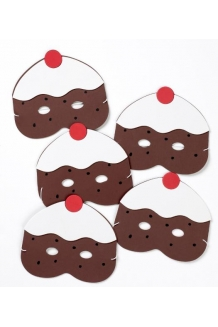 Five Currant Buns in the Bakers Shop masks