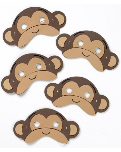 Five Little Monkeys Masks