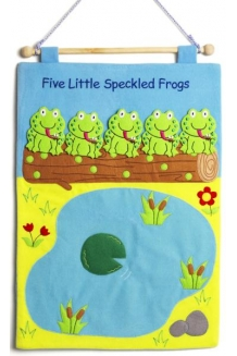 Five Little Speckled Frogs w..