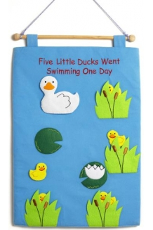 Five Little Ducks wallchart