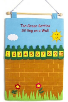 Ten Green Bottles chart