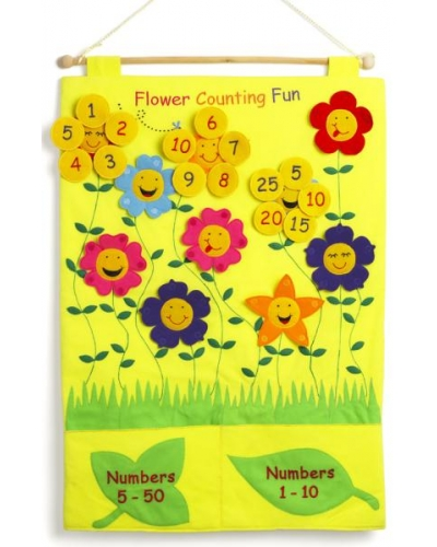 Flower Counting Fun Chart