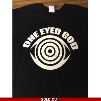 One Eyed God logo T-shirt