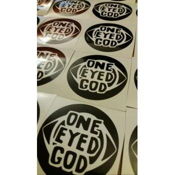 One Eyed God Sticker