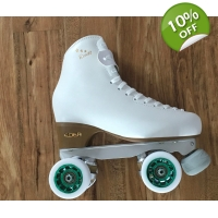 Clearance item size 250 - size 4.5 skates white ..