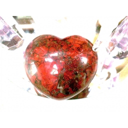 Gemstone Hearts - Poppy Jasp..