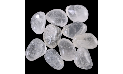 Large Clear Quartz Tumbled Stone 30mm