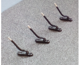 00 Trackside point levers pack of 4 -NON WORKING-