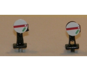 "OO gauge GWR ""Great Western Railway"" ground signals pack of 2 - non working-"