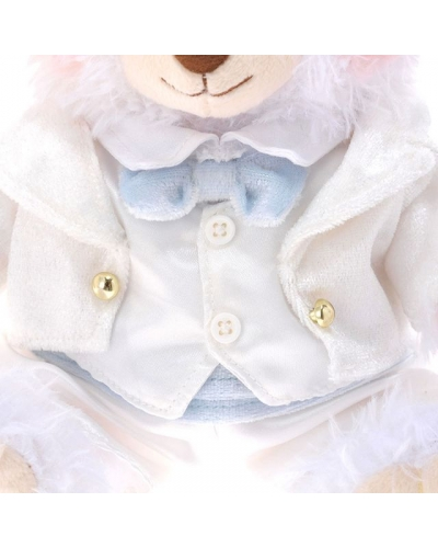 Japan Disney Store UniBearsity Wedding welcome Bear whip & Puffy