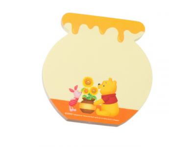 Japan Disneystore Disney Store Pooh Hunny Day Series Sticky Memo