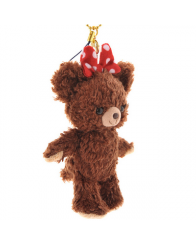 Japan Disneystore Disney Store Disney UniBearSity Strap and key chain pudding