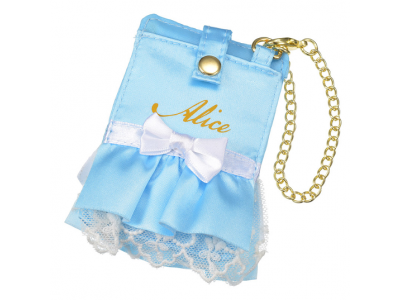 Japan Disney store Disneystore Pass Card Case dress Alice in Wonderland