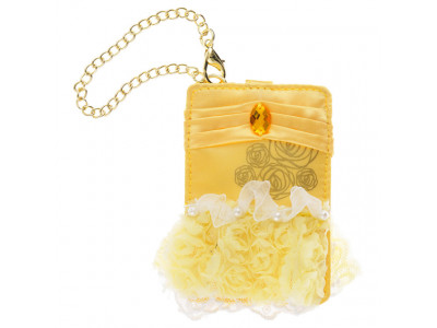 Japan Disney store Disneystore Pass Card Case dress Bell Beauty & the Beast