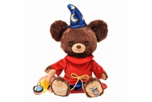 Japan Disney D23 Unibearsity Mocha in Fantasia Costume Soft Stuffed Toy Disney UniBEARsity D23 ファンタジア モカ ぬいぐるみ