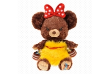 Japan Disney D23 Unibearsity Pudding Soft Stuffed Toy Disney UniBEARsity D23 ホウキ プリン ぬいぐるみ