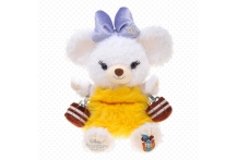 Japan Disney D23 Unibearsity Whip Soft Stuffed Toy Disney UniBEARsity D23 ホウキ パフィー ぬいぐるみ