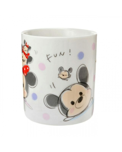 Last Piece Japan Disney Store Tsum Tsum Series Cup Mug Mickey Minnie Donald Daisy Goofy