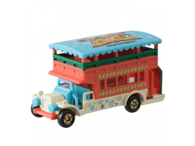 Japan Tokyo Disneyland Disneysea Disney Resorts Land Sea 2015 Christmas Mickey Minnie Tomica Bus