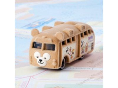 Japan Tokyo Disneysea Disneyland Disney Resorts Sea Land Duffy Tomica Duffy Bus Toy Car Takara Tomy