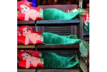 Japan Tokyo Disneyland Disneysea Disney Resort Ariel the Little Mermaid Plush Stuffed Toy Body Pillow Cushion